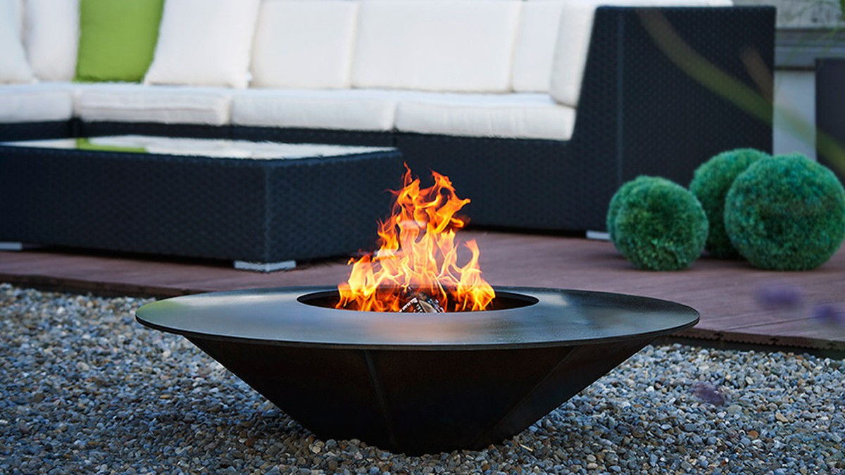 feuerschalen grill. Black Bedroom Furniture Sets. Home Design Ideas