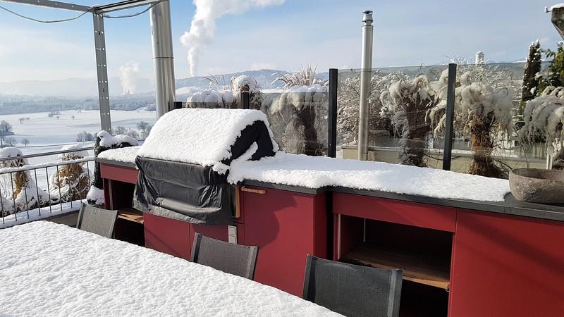 Außenküche Mit Smoker : Aussenküchen cubic by herrenhaus aussenküchen hico feuerland