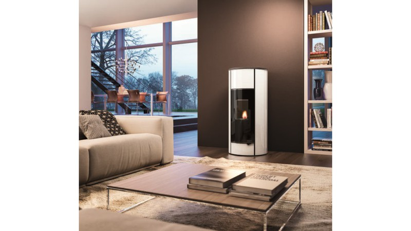 Ecofire Ines Glas weiss