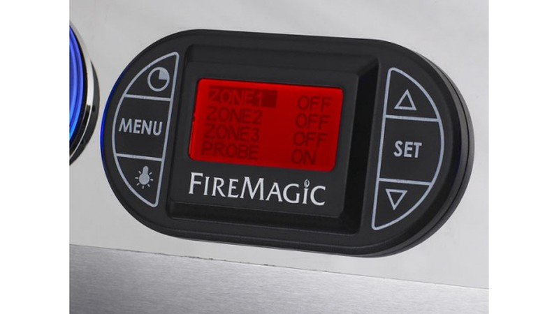 Fire Magic - eingebautes digitales Thermometer
