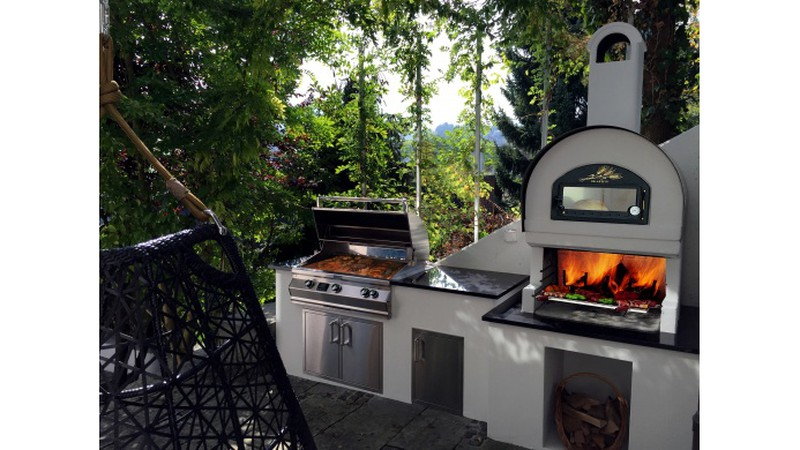 Outdoor Küche Pizza Ofen : Individuelle aussenküchen aussenküchen hico feuerland gränichen